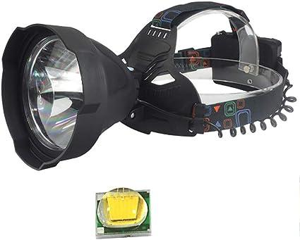 Linterna Frontal de la lámpara Cabezal del LED, iluminación ...