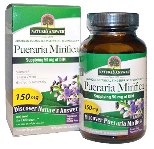Nature's Answer Pueraria Mirifica Vegetarian Capsules