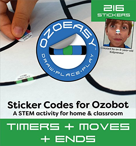 Ozoeasy Sticker Codes (Timers + Moves + Ends Pack) for use with...