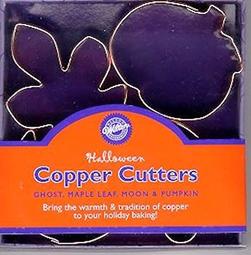 Halloween Mini Copper Cutter 4 pc Set ()