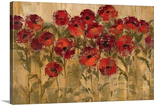 Sunshine Florals Canvas Wall Art Print