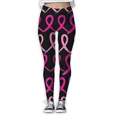 Breast Cancer Pink Women s Activewear High-Waist Tights Leggings Yoga Pants  S 3b7b22da5c