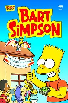 Read Online Bart Simpson Comics #76 PDF