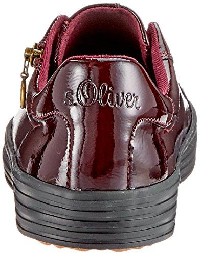 Oliver Zapatillas 528 Mujer 21 Bordeaux Pat para s Rojo 23615 4dWfH4Tq