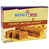 NutriWise – Peanut Butter Crunch Diet Protein Bars (7 bars) Review