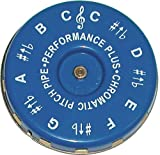 Performance Plus CP-C Vocal Chromatic Pitch Pipe Key of C to C with Velvet Bag