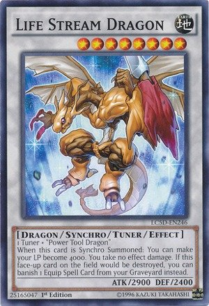 (Yu-Gi-Oh! - Life Stream Dragon (LC5D-EN246) - Legendary Collection 5D's Mega Pack - 1st Edition - Common)