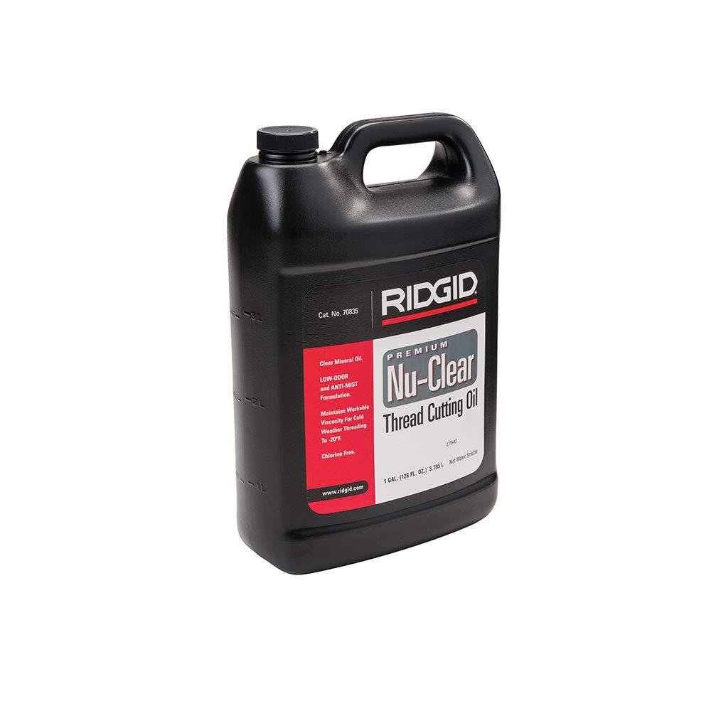 RIDGID 70835 Thread Cutting Oil, 1 Gallon of Nu-Clear Pipe Threading Oil by Ridgid