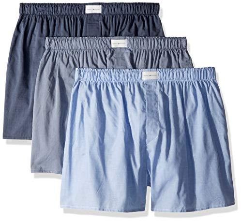 Tommy Hilfiger Men's Cotton Classics 3 Pack Woven Boxer