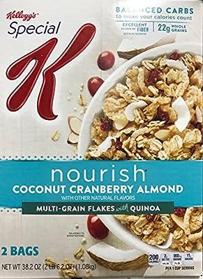 Kellogg's Special K Nourish - Coconut Cranberry Almond Multi-Grain Flakes with Quinoa - 38.2 oz.