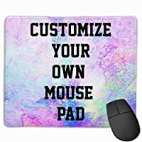 Personalized Mouse Pad, Add Picture Text Logo Make Your Own Customized Mousepad 11.8x9.8x0.09 Inch