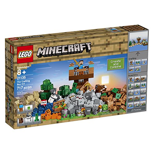 LEGO Minecraft the Crafting Box 2.0 21135 Building…