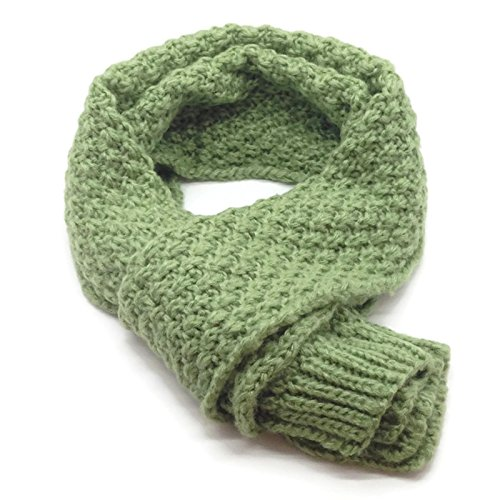 HappyTree Kids Hot Fashion Classic Thick Knitted Winter Warm Scarf Unisex Toddler Cowl Wool Soft Shawl (Cute Cuples)