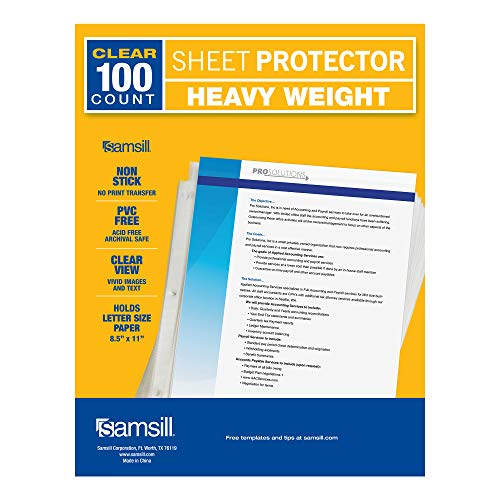 Samsill Heavyweight Protectors Reinforced Archival