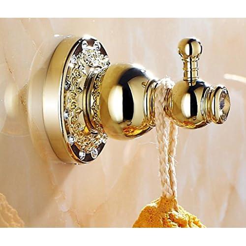 BLYC- Coat hooks/hook/hook/hook/clothes/continental/rose gold/zircon gold/antique/hook/hook new