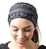 RiptGear Headband - Tribal Black and White