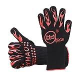 YHAO Super Heat Resistant 932°F Oven Gloves-EN407 Certified BBQ...
