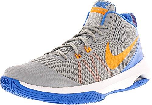 NIKE Herren Air Versitile Nbk Basketball-Schuhe Wolf Grey / helle Zitrusfrucht