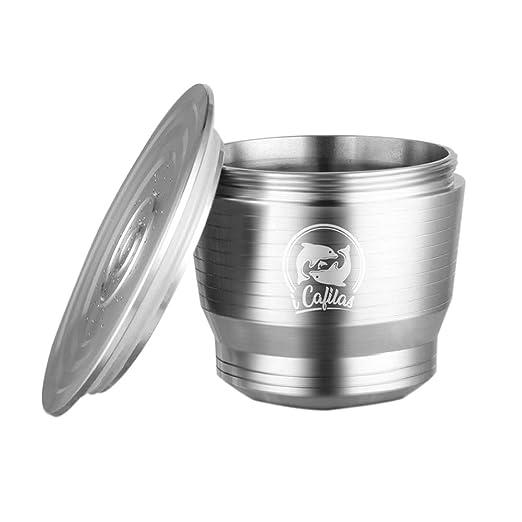 Filtro de café reutilizable Cápsula de café de acero inoxidable ...