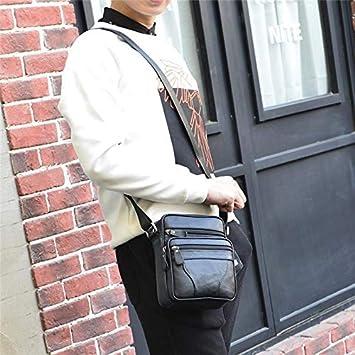 hainan Messenger Bags Men Casual Travel Business Crossbody Shoulder Bag for Man Black one Size