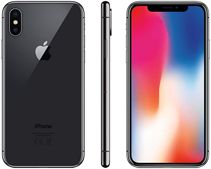 Apple iPhone X 64GB Gris Espacial (Reacondicionado): Amazon.es ...