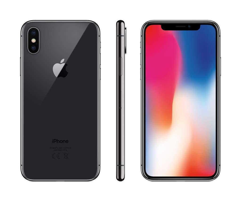 Apple iPhone X 64Go Gris Sidéral (Reconditionné)