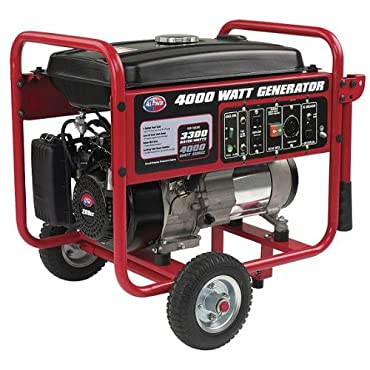 All Power America APGG4000 4000W 7HP 208CC Generator with Wheel Kit