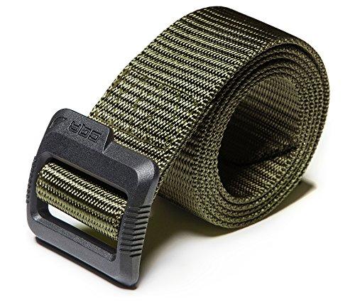 (CQR CQ-MZT01-GRN_S(w28-30) Tactical Belt 100% Full Refund Assurance Nylon Webbing EDC Duty 1.5