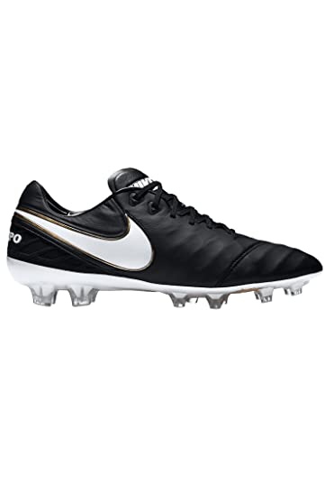 buy popular eb135 bcacc Nike Tiempo Legend VI FG Mens Soccer-Shoes 819177-010 6 - Black Black
