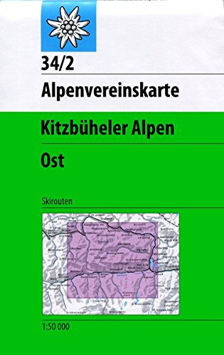 Kitzbüheler Alpen - Ost: Skirouten - 1:50000 (Alpenvereinskarten) Landkarte – Folded Map, 1. Januar 2016 Deutscher Alpenverein 3928777483 Karten / Stadtpläne / Europa Europa: Gebirge