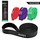 INTEY Pull up Assist Band Exercise Resistance Bands for Workout Body Stretch Powerlifting -Single Band or Set of 4