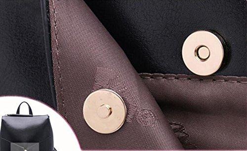 Mode Shoulder Femme À tout Diagonale One Vintage Dos Sacoche Cuir Casual Winered Femme Sac Fourre qgnXAWW