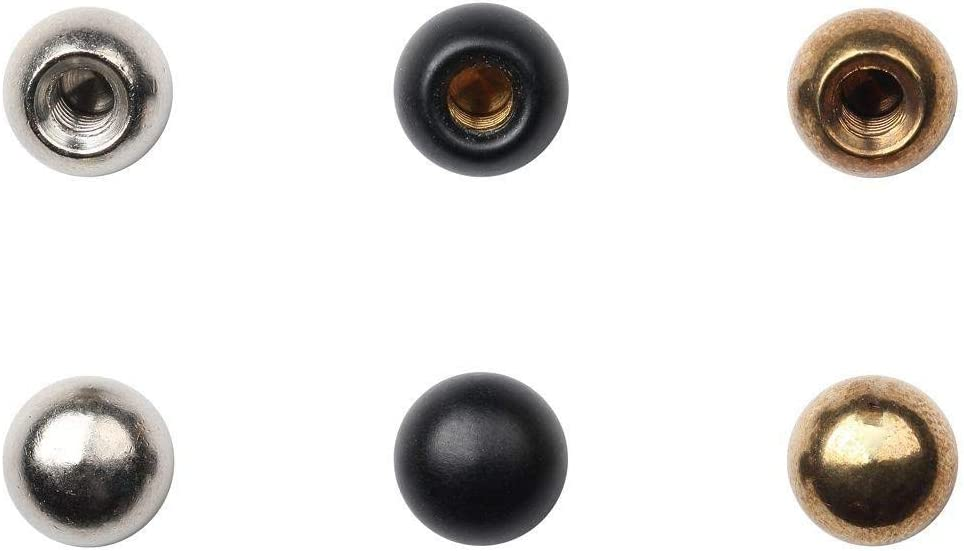 Amazon Com Lamp Cap Nuts Tapped 8 32 3 8in Diameter 6 Assorted Home Improvement
