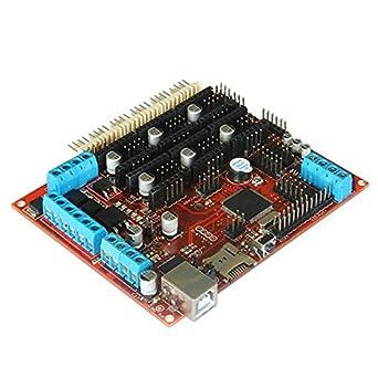 Impresora 3D madre Driver Megatronics V2.0 Reprap Stepper Motors ...