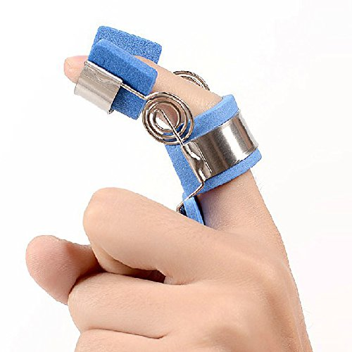 Spring Finger Loop (Ober Finger Splint Orthosis Finger Support Finger Spasm/finger Arthritis Training Device Correction Function Fraction Recovery Flexion Extension Posture Corrector (S))