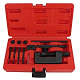 Motorcycle Bike Chain Riveter Riveting Tools Kit Breaker Splitter Maintenance