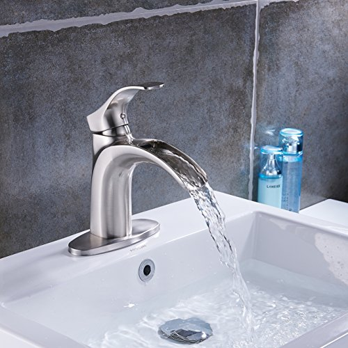 Top 10 best bathroom faucets brushed nickel single hole: Which is the best one in 2019?