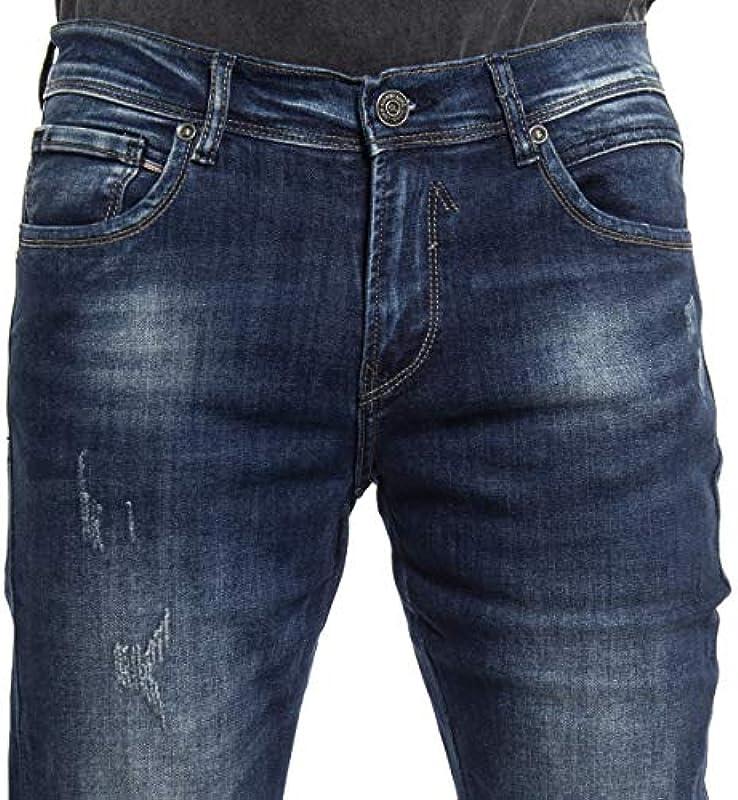 Gianni Lupo - Jeans GL717Y - BLU, 38/52: Odzież