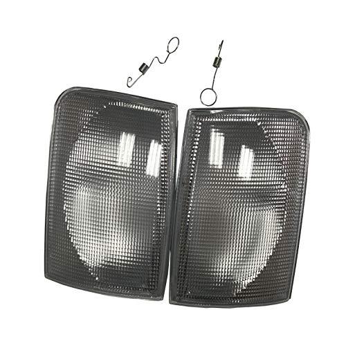 1 pair White Front Indicator Lamp For Transporter LT35 LT 35 25 28 46 Front Corner Turn signal light lamp 1996-2003: