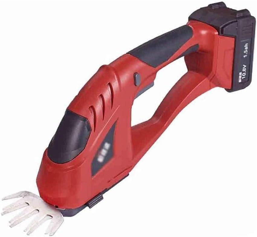 Recargable doméstica pequeña cortadora de césped, cortacésped eléctrico, portátil multifunción cortasetos, tanto for el corte de hierba y setos