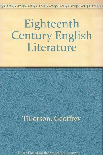 Eighteenth Cent.English Literature