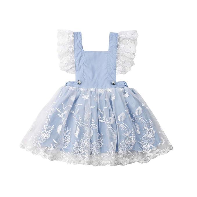 Abiti Eleganti Fantasia.Strap Abito Bambine Eleganti Moda Vestito Senza Maniche A Balze
