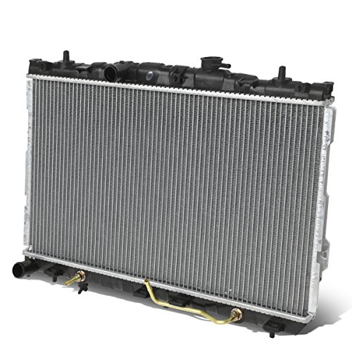For Elantra/Tiburon AT 1-5/16 inches Models Inlet OE Style Aluminum Direct Replacement Racing Radiator