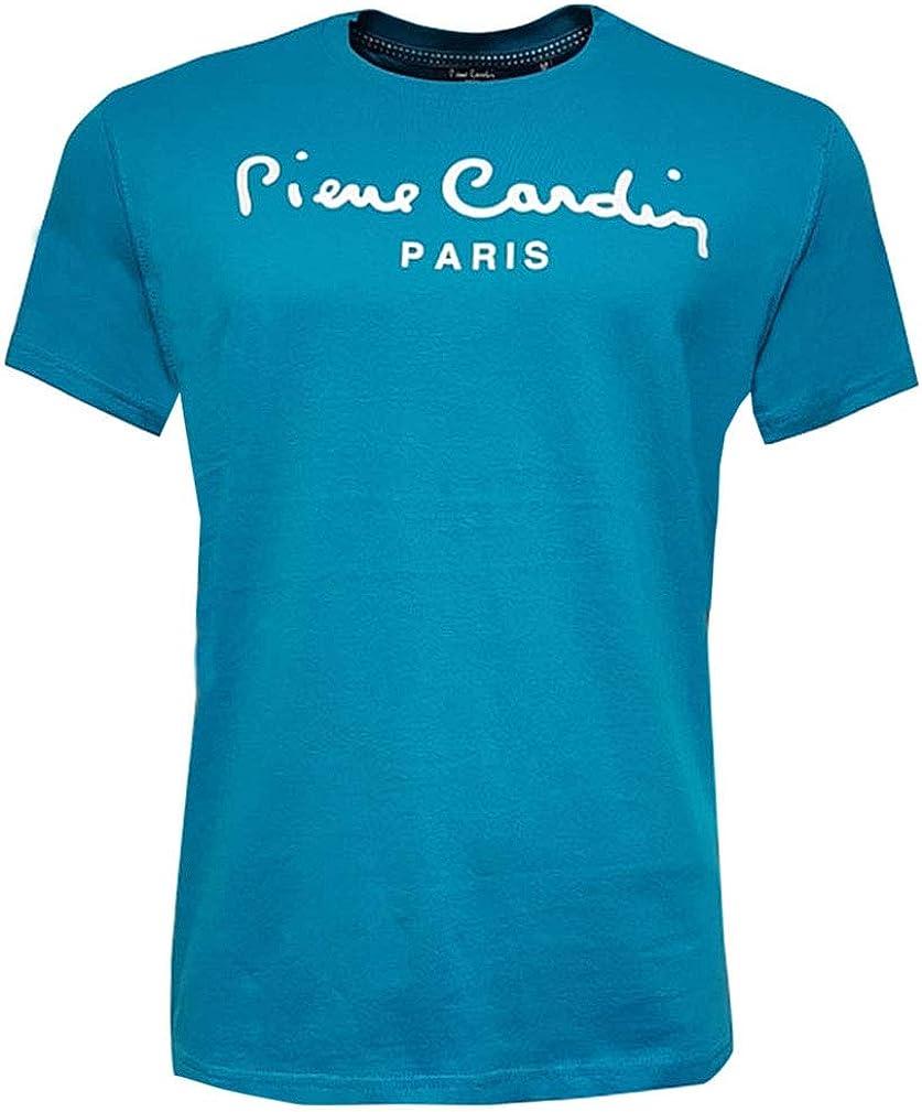 Multicolor Talla S-2XL Disponible Pierre Cardin Hombre Classic 100/% Algod/ón Camiseta Manga Corta con Cuello Redondo Estampado Grande