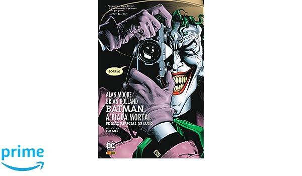 Batman - A Piada Mortal - Volume 1 (Em Portuguese do Brasil): Alan Moore: 9788573515473: Amazon.com: Books