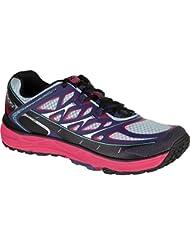 Topo Athletic MT2 Running Shoe - Womens Indigo/Fuchsia 9.5