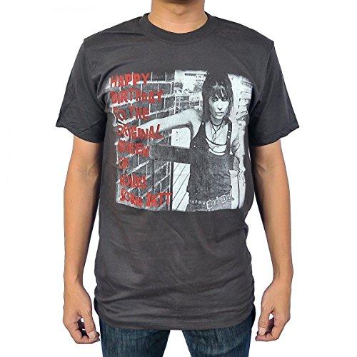 [Rockstar55 Joan Jett T Shirt X-Large Black] (Joan Jett Wigs)