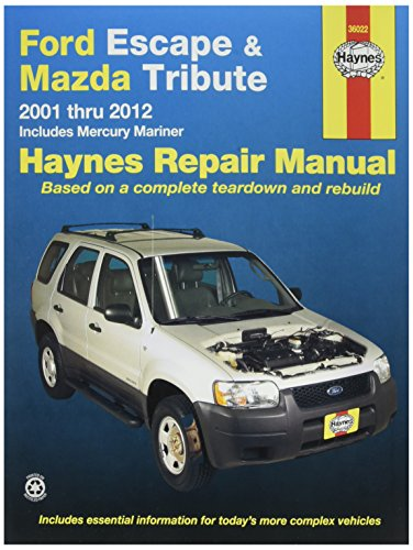 Ford Escape Manual - Haynes Publications, Inc. 36022 Repair Manual