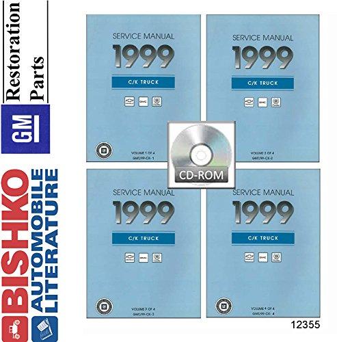 Price comparison product image 1999 Chevrolet & GMC C / K Truck Shop Service Repair Manual CD
