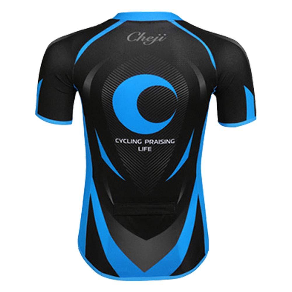 M&A Kids Boys Short Sleeve Cycling Jersey Set Bike Shirt